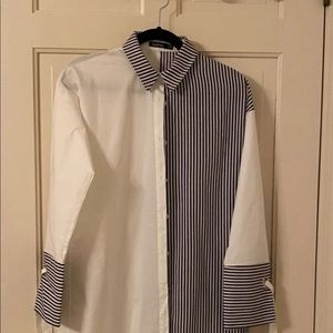 White and stripe shirts